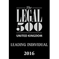 2016 - Legal 500 - UK leading individual.png