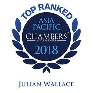 2018_Chambers APAC_Ranked_Leading Individual Top Ranked Julian Wallace.png
