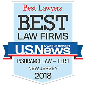 US News Best Law Firms Insurance Law tier 1 New Jersey 2018.png