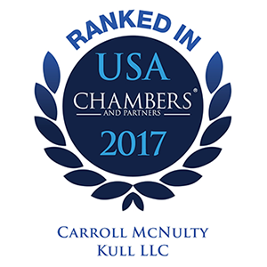 2017 - Chambers USA CMK ranked.png