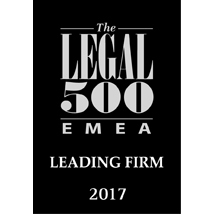 2017 - The Legal 500 - EMEA_leading_firm