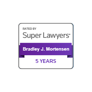 bradley mortensen super lawyers 5 years
