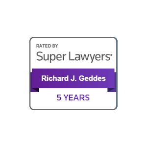 richard geddes super lawyers 5 years
