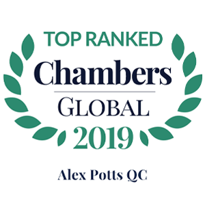 Chambers Global 2019 Alex Potts QC