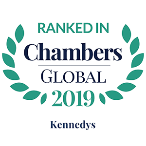 Chambers Global 2019 Kennedys
