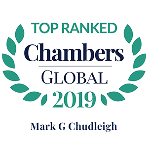 Chambers Global 2019 Mark G Chudleigh