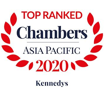 Chambers APAC 2020 Leading Firm